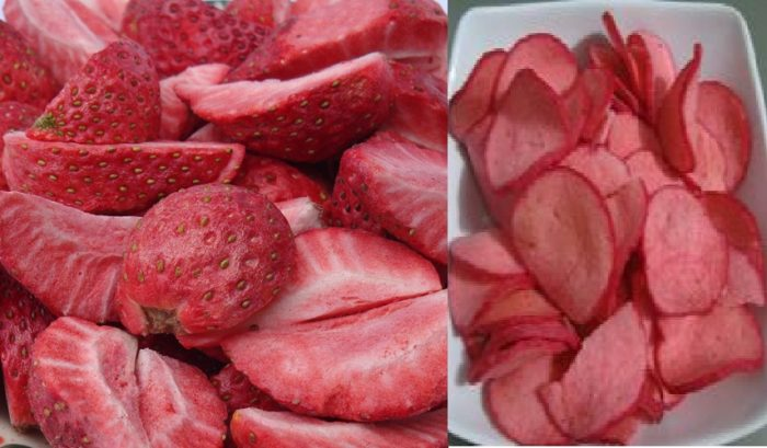 cara membuat kerupuk strawberry